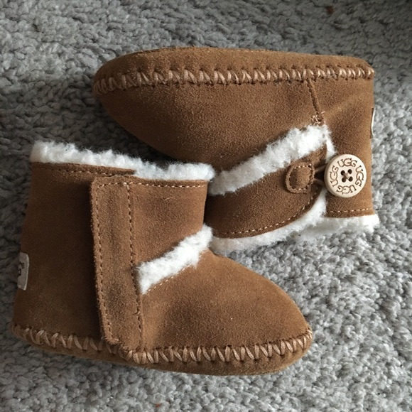 cc143ed2430 Infant UGG LEMMY II boots SZ 2/3 Brand New BROWN NWT